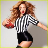 Beyonce Referee Super Bowl